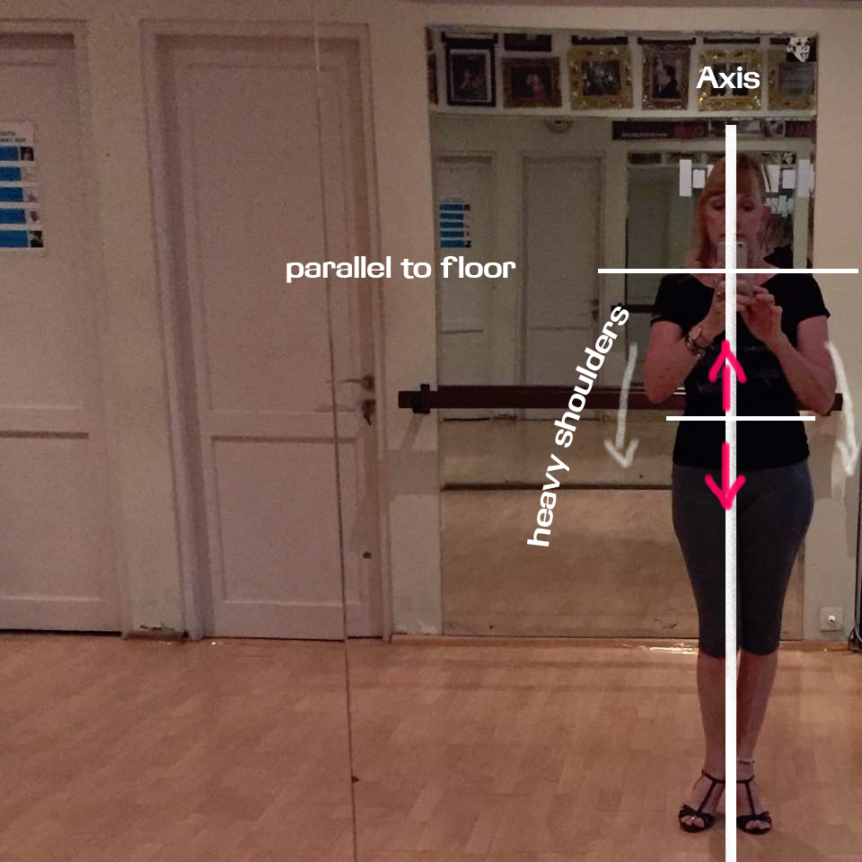 posture and axis in tango